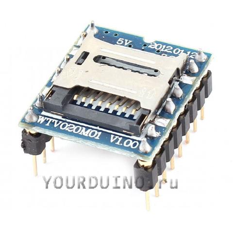 Звуковой модуль WTV020M01