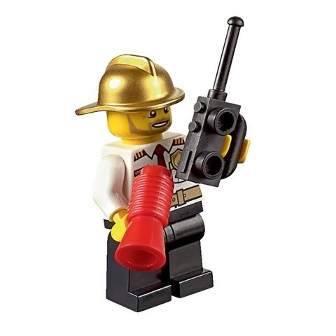 LEGO City: Пожарная охрана для начинающих 60088 — Fire Starter — Лего Сити Город