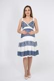 Платье для беременных 05953 разноцветный