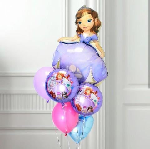 Фонтан из шаров София прекрасная