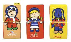 K's Kids Мягкие кубики-пазлы (KA622)