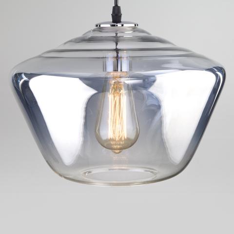 Подвесной светильник со стеклянным плафоном 50199/1 хром