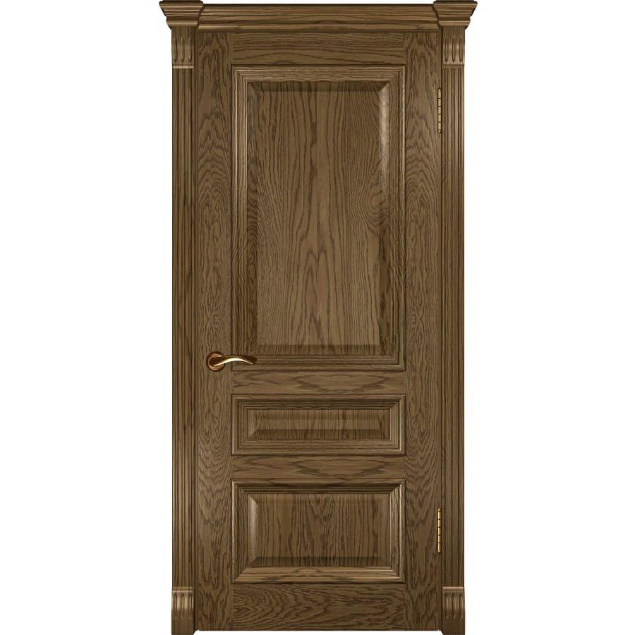 Темные Межкомнатная дверь шпон Luxor Фараон 2 светлый морёный дуб глухая faraon-2-dg-svetliy-dub-moreniy-dvertsov.jpg