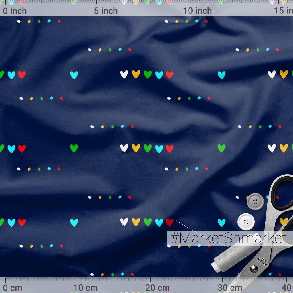 Сердечки / Hearts - dots