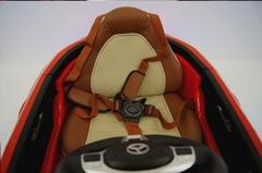 детская машина Mercedes Benz CLA45 сиденье с пятиточечным ремнем