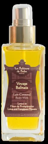 Масло LA SULTANE de SABA Лотос/ Франжипини   100 мл