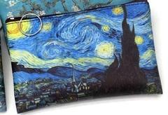Pul, makiyaj çantası \ Кошелек, косметичка \ Money, makeup bag Van Gogh starry night 2