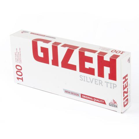 ГИЛЬЗЫ для самокруток GIZEH SILVER TIP пач/100 НК