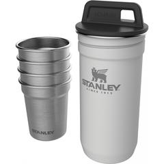 Набор стопок с флягой Stanley Adventure 0,59ML+0,23L Белый (10-01883-036) - 2
