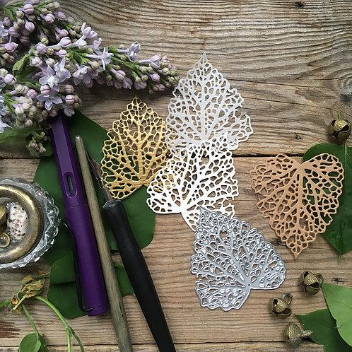 Набор ножей для вырубки «Прошлогодний лист»