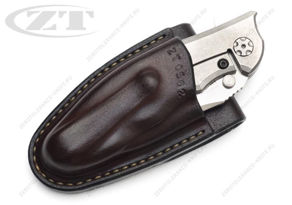 Чехол кожаный ZT 0562 темно-коричневый