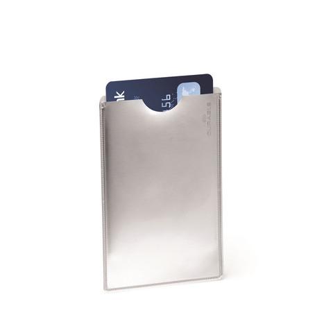 Чехол для кредитной карты/пропуска с защитой RFID 61х90 мм без крепления Durable (10 штук в упаковке)