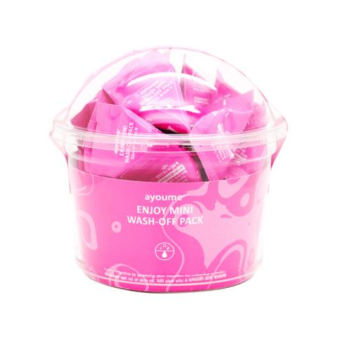 Ayoume Enjoy Mini Wash Off Pack успокаивающая маска для лица с каламином