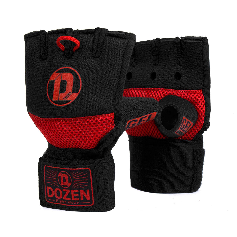 Быстрые бинты черно-красные Dozen Pro Gel-Air Inner главный вид