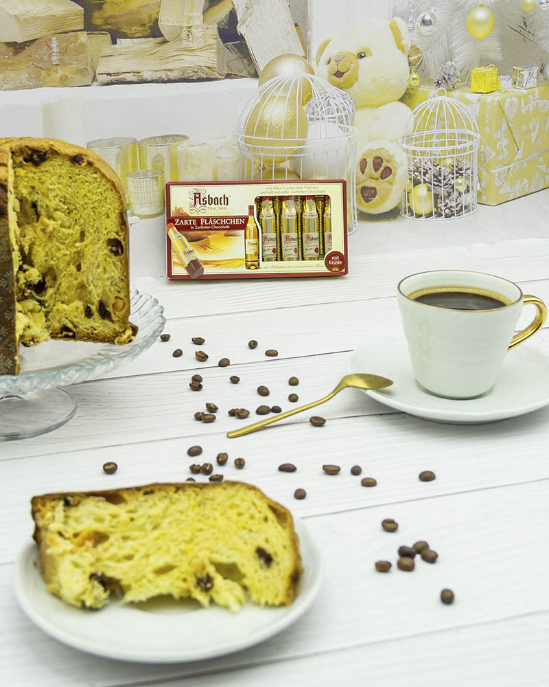 Конфеты Asbach из Горького Шоколада с Начинкой из Бренди 100 гр.