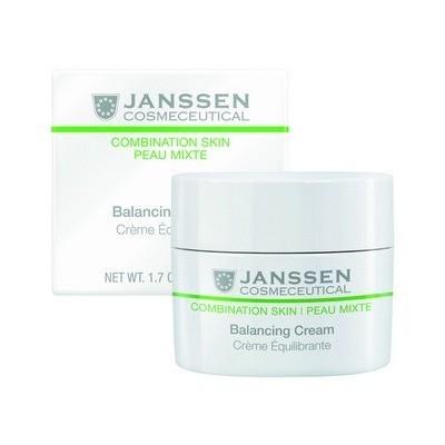 Janssen Combination Skin: Балансирующий крем для смешанной кожи лица (Balancing Cream), 200мл
