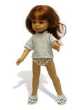 Тапочки трикотажные - На кукле. Одежда для кукол, пупсов и мягких игрушек.