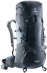 Deuter Aircontact Lite 50+10 Black-Graphite - рюкзак туристический