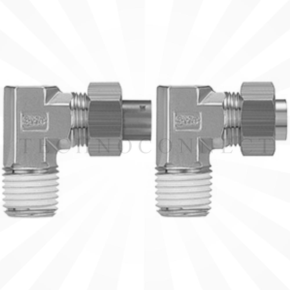KFL08N-02-X2  Угловое резьбовое соединение