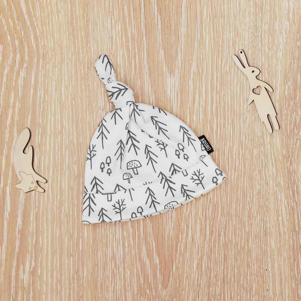 Шапочка с узелком «Ёлочки»