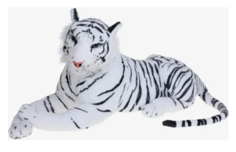 Белый тигр 120 см