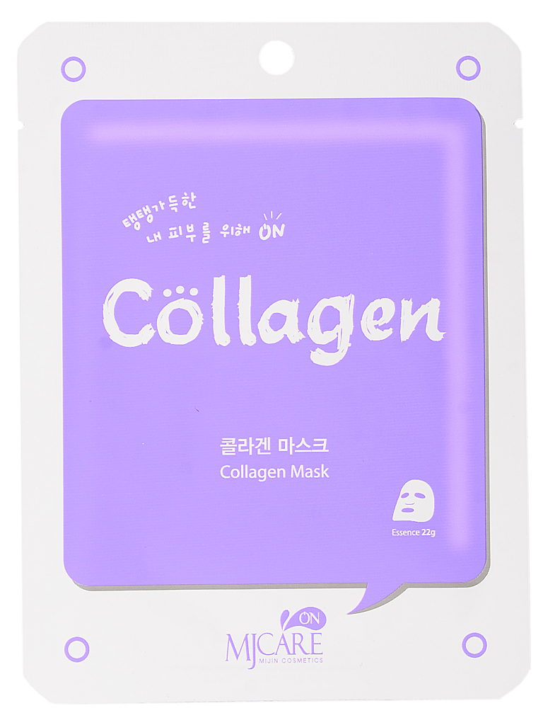 Тканевые Маска тканевая для лица с коллагеном on Collagen mask pack МЖ73.jpg
