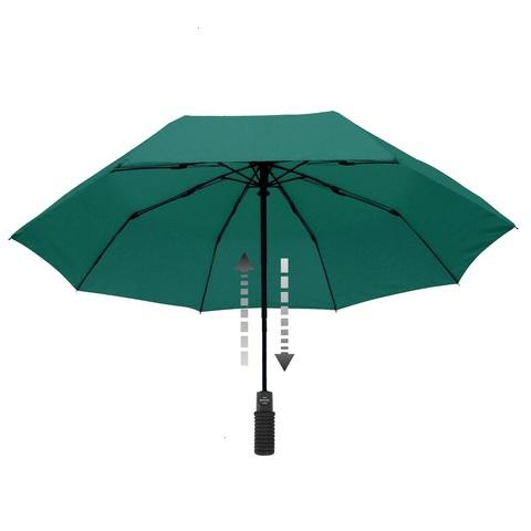 Зонт Euroschirm Light Trek Automatic с фонариком Green