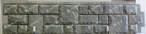 Фасадная панель Гранд Лайн Я-ФАСАД Камень Графит 1407х327 мм