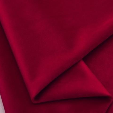 Бархат матовый стрейч, ворс 0,5 мм., винный  (выбрать  размер)