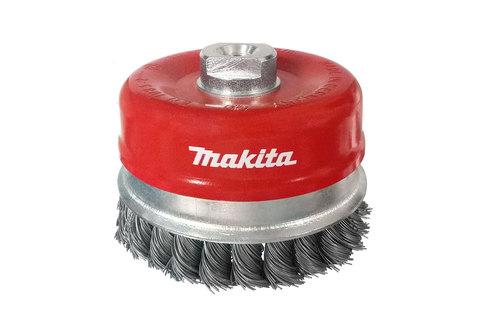 Витая проволочная щётка Makita 100 мм