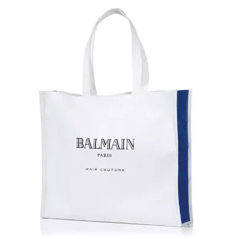 Balmain Брендированная пляжная сумка Beach Bag 45x38 cм