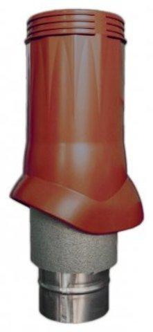 Выход вентиляционный ERA VWO D125/160 Brown изолированный для нанодефлектора, пластик