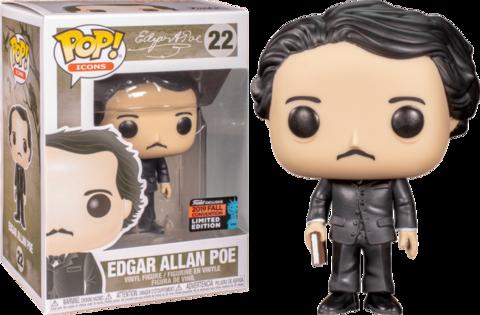 Фигурка Funko Pop! Icons - Edgar Allan Poe (Excl. to New York Comic Con 2019)