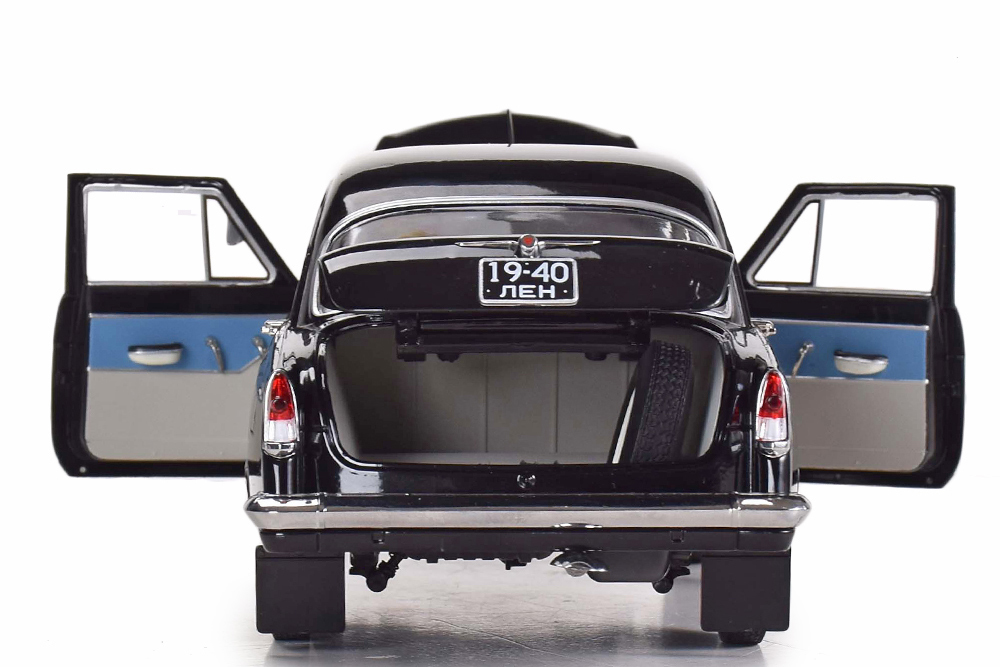 Коллекционная модель GAZ 21P VOLGA 1966 BLACK | ГАЗ-21Р ВОЛГА 1966 ЧЕРНЫЙ