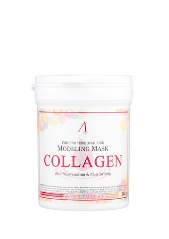 Anskin Collagen Modeling Mask Маска альгинатная с гиалуроновой кислотой и коллагеном, 240 гр