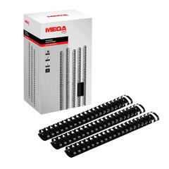Пружины для переплета пластиковые Promega office 45 мм черные (50 штук в упаковке)