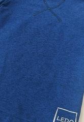 Водолазка из CHINE SOFT с манжетом (синий)