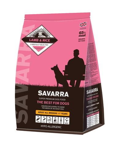купить  Savarra Adult All Breeds Dogs Lamb Сухой корм для взрослых собак всех пород с ягненком