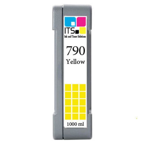 Картридж для HP 790 (CB274A) Yellow 1000 мл