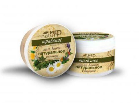 Мыло банное натуральное Травяное очищающее 250 мл Институт натуротерапии ТМ Натурмед