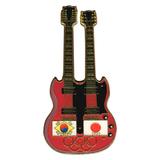 Значок Olympic Games - Korea 2018 - Japan 2020 - Guitar