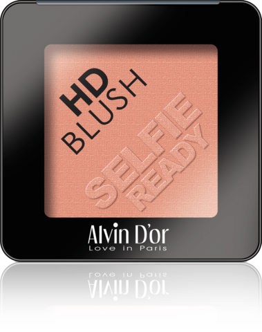 Alvin D`or B-2 Румяна пудровые HD Blush selfie ready 6гр (тон 02)