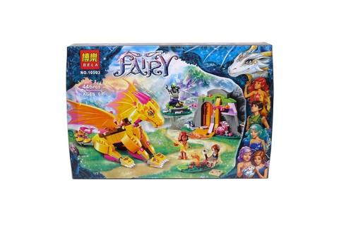 Конструктор  Феи Эльфы  10503 Лавовая пещера дракона, 446 дет.