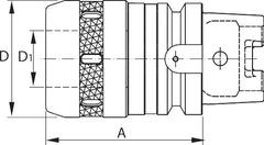 Механизированный патрон HSK-A 63