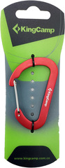 Брелок-карабин Kingcamp D-Shape Carabiner