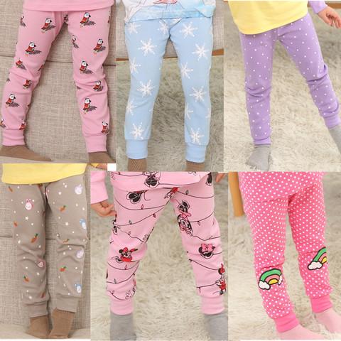 Тонкие детские пижамные штанишки для девочки