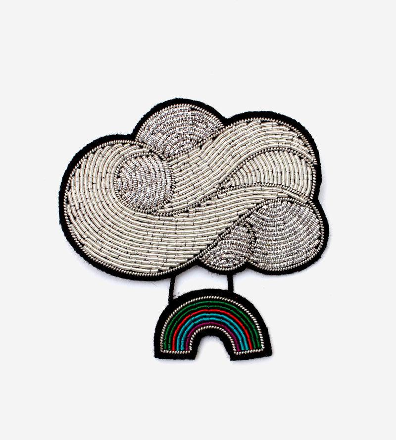 Брошь Rainbow Cloud
