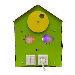 Дом  Чудесный (зеленый  со светом)