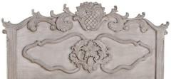 "Кровать (160х200) ""Версаль (Versaille)"" —  Античный серый (MK-2501-AG)"