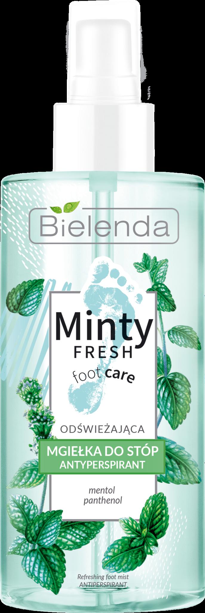 MINTY FRESH FOOT CARE освежающий антиперспирант для ног, распылитель, 150 мл